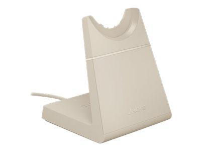 Jabra - Ladeständer - beige - für Evolve2 65 MS Mono, 65 MS Stereo, 65 UC Mono, 65 UC Stereo