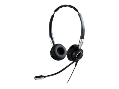 Jabra BIZ 2400 II QD Duo NC Wideband - Headset - On-Ear - kabelgebunden - Quick Disconnect