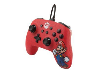 PowerA Enhanced Wired Controller Mario - Game Pad - kabelgebunden - für Nintendo Switch