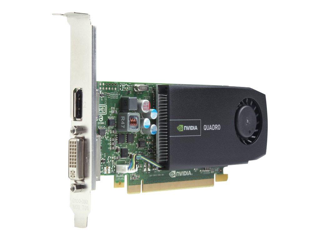 NVIDIA Quadro 410 - Grafikkarten - Quadro 410 - 512 MB GDDR3 - PCIe 3.0 x16 Low-Profile - DVI, DisplayPort