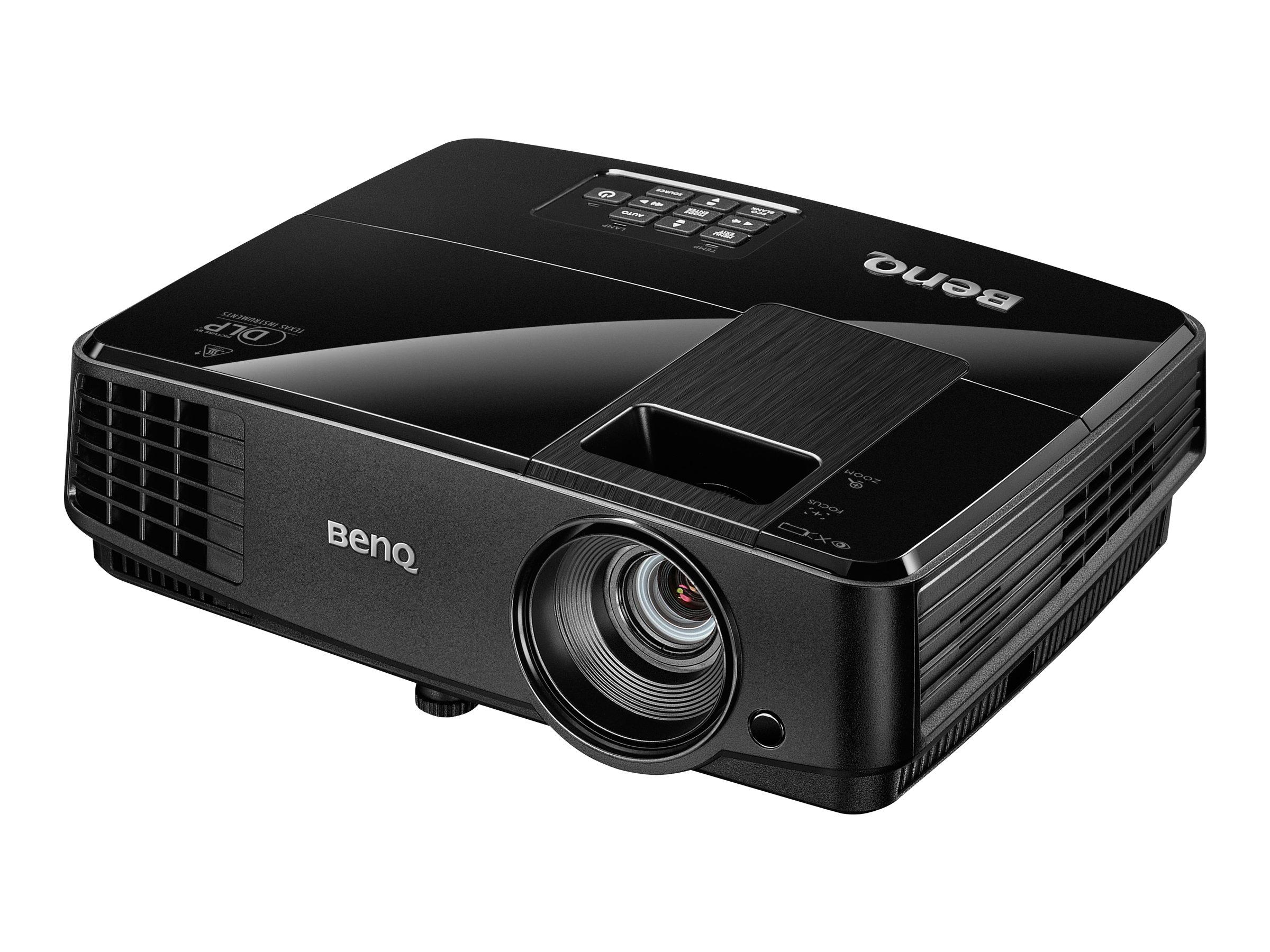 BenQ MS504 - DLP-Projektor - tragbar - 3000 ANSI-Lumen - SVGA (800 x 600) - 4:3