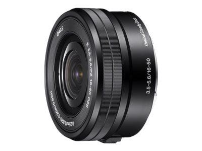 Sony SELP1650 - Zoomobjektiv - 16 mm - 50 mm - f/3.5-5.6 PZ OSS - Sony E-mount