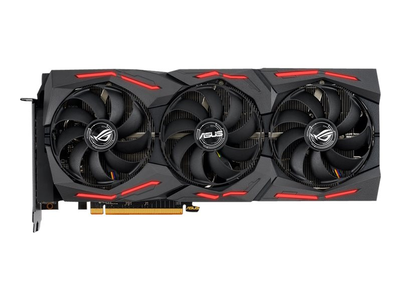 ASUS ROG-STRIX-RX5700XT-O8G-GAMING - OC Edition - Grafikkarten - Radeon RX 5700 XT - 8 GB GDDR6 - PCIe 4.0 x16