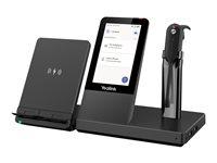 Yealink WH67 X UC Workstation - Für Microsoft Teams - Headset - im Ohr - DECT - kabellos