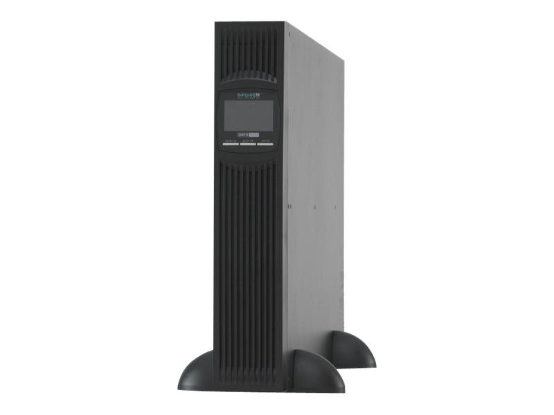Online USV ZINTO A 3000 - USV (in Rack montierbar/extern) - Wechselstrom 230 V - 2700 Watt - 3000 VA - RS-232, USB