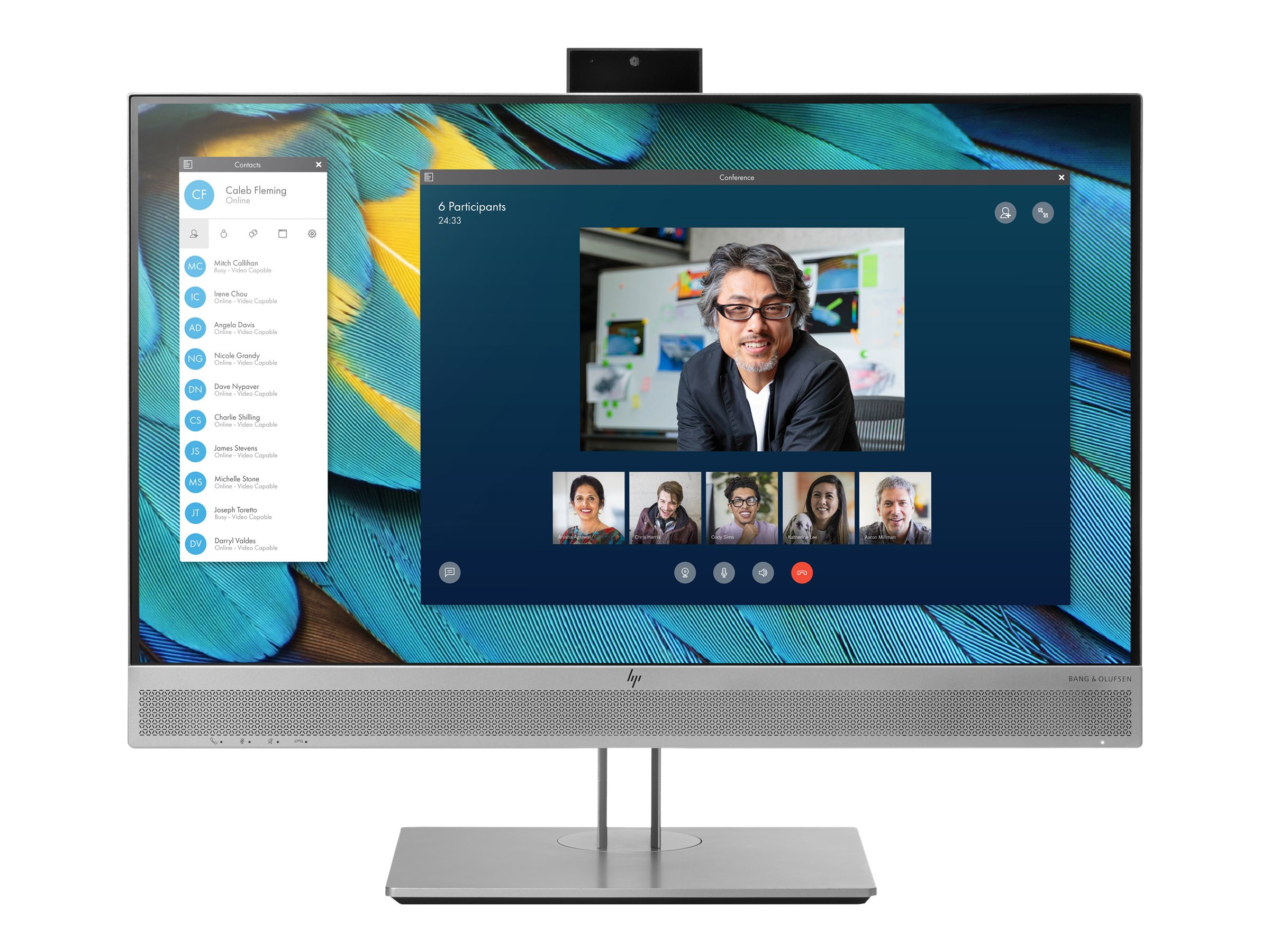 HP EliteDisplay E243m - LED-Monitor - 60.5 cm (23.8