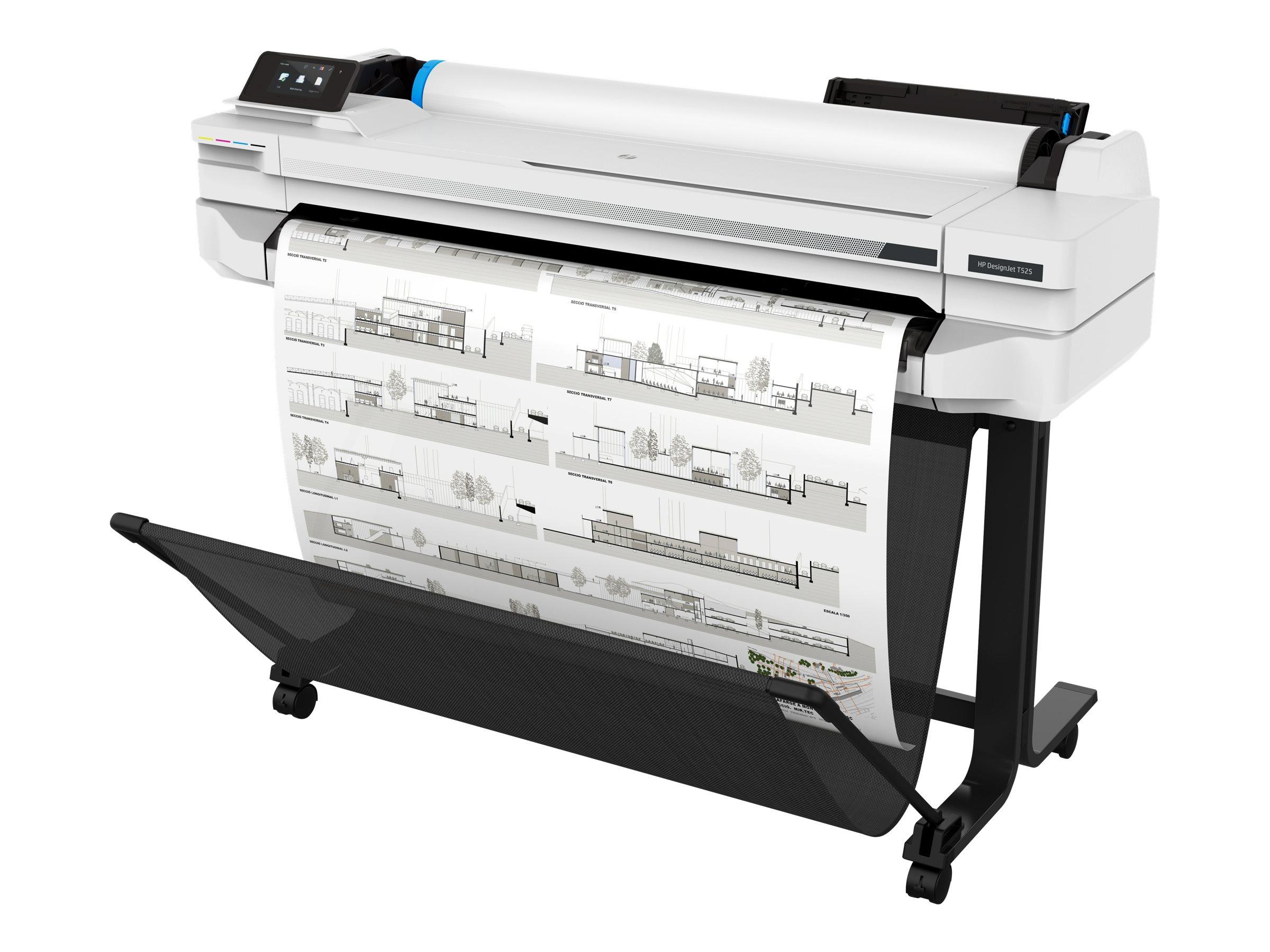HP DesignJet T525 - 914 mm (36