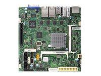 SUPERMICRO X11SBA-LN4F - Motherboard - Mini-ITX - Intel Pentium N3700 - USB 3.0 - 4 x Gigabit LAN