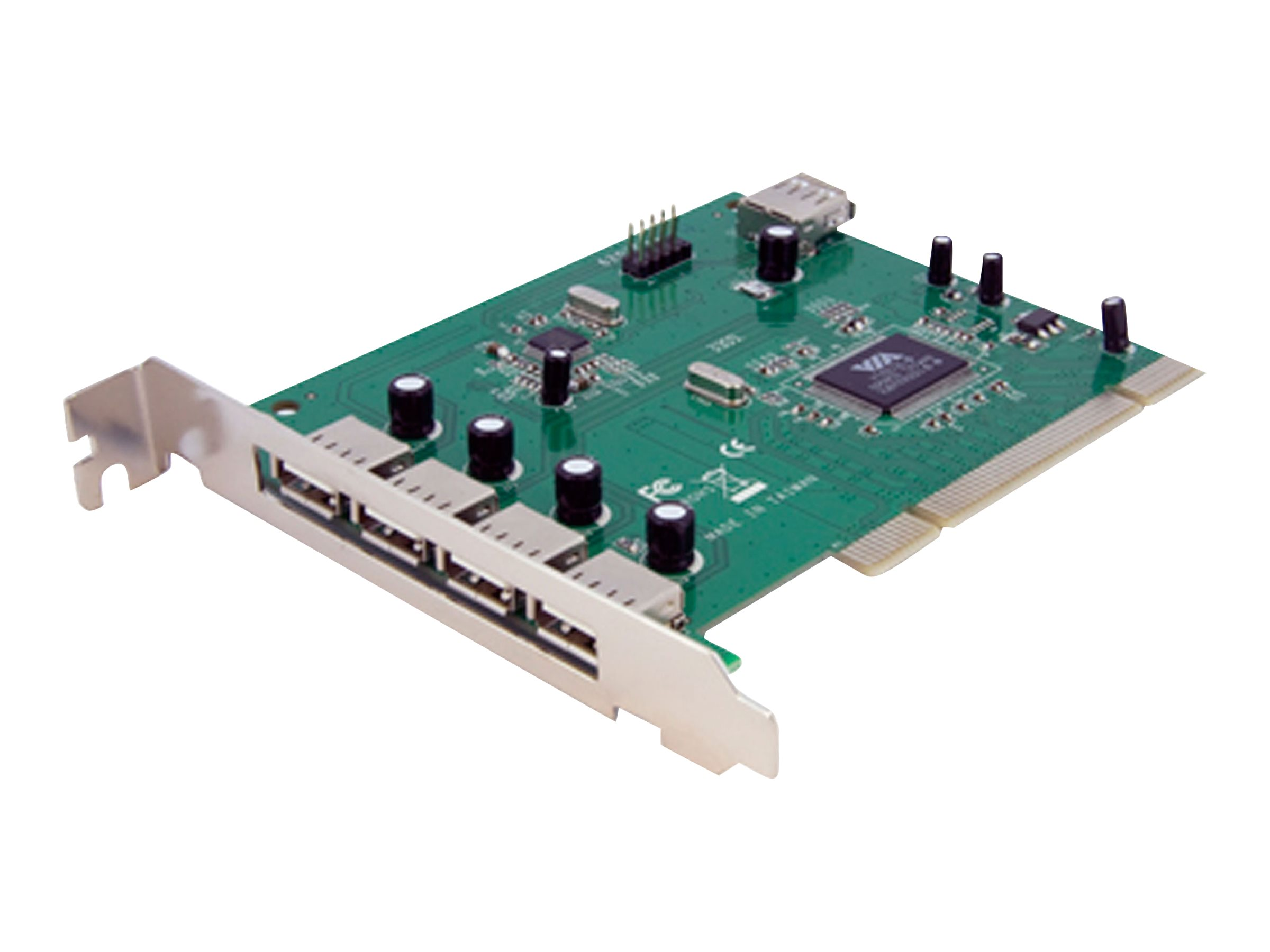 StarTech.com 7 Port USB 2.0 PCI Schnittstellenkarte - USB Controller Adapter Karte - USB-Adapter - PCI - USB, USB 2.0 - 7 Anschl