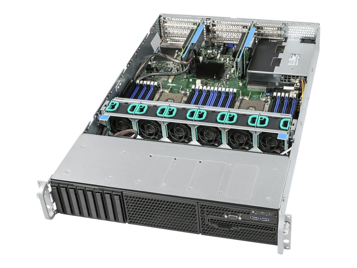 Intel Server System R1208WFQYSR - Server - Rack-Montage - 1U - zweiweg - keine CPU