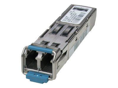 Cisco Rugged SFP - SFP (Mini-GBIC)-Transceiver-Modul - GigE - 1000Base-SX - LC/PC Multimode - bis zu 550 m