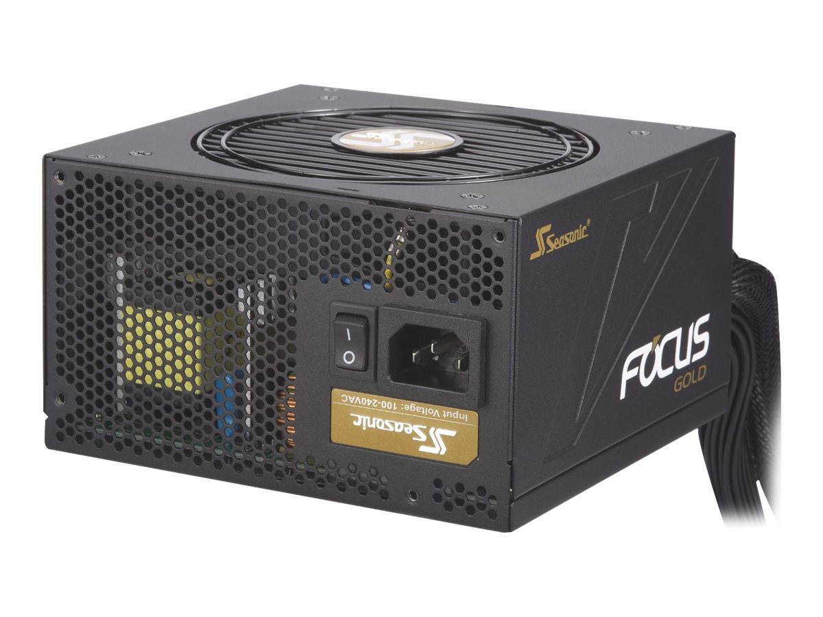 Seasonic FOCUS Gold SSR-450FM - Stromversorgung (intern) - ATX12V / EPS12V - 80 PLUS Gold - Wechselstrom 100-240 V - 450 Watt