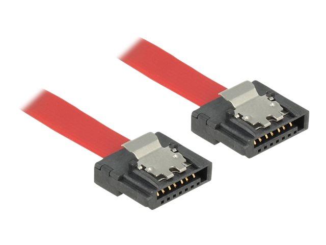 DeLOCK FLEXI - SATA-Kabel - Serial ATA 150/300/600 - SATA (W) bis SATA (W) - 30 cm - eingerastet