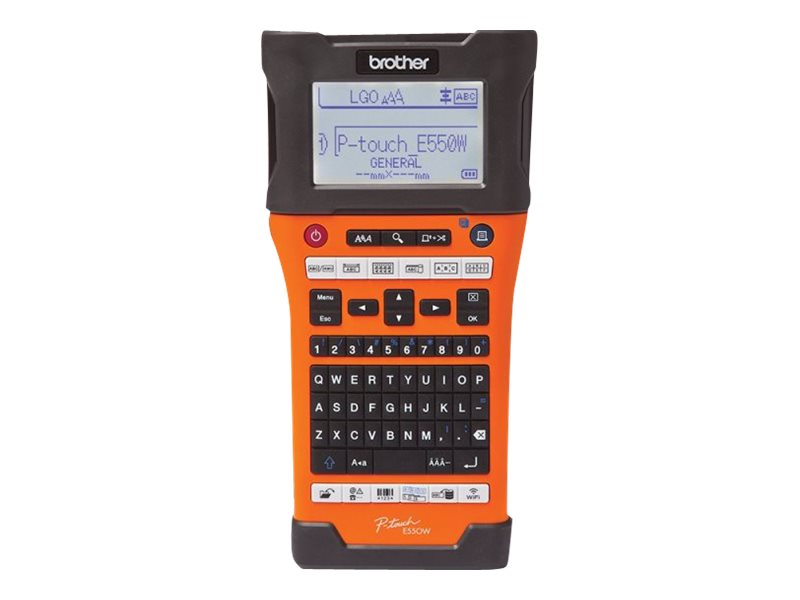 Brother P-Touch PT-E550WVP - Beschriftungsgerät - s/w - Thermotransfer - Rolle (2,4 cm) - 180 x 180 dpi