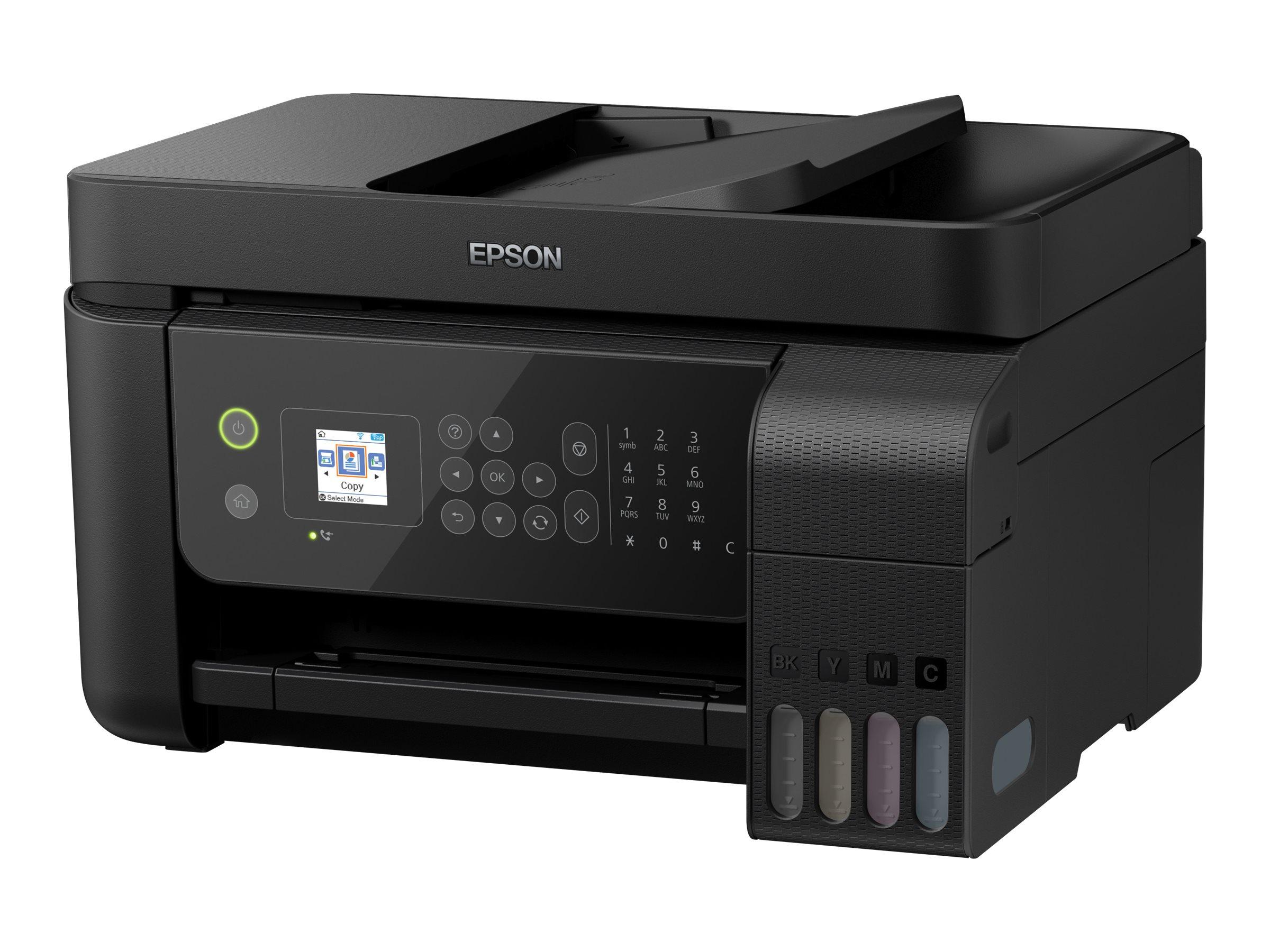 Epson EcoTank ET-4700 Unlimited - Multifunktionsdrucker - Farbe - Tintenstrahl - A4/Legal (Medien) - bis zu 10 Seiten/Min. (Druc