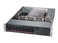 Supermicro SC213 AC-R1K23LPB - Rack-Montage - 2U - verbessertes, erweitertes ATX - SATA/SAS - Hot-Swap 1200 Watt