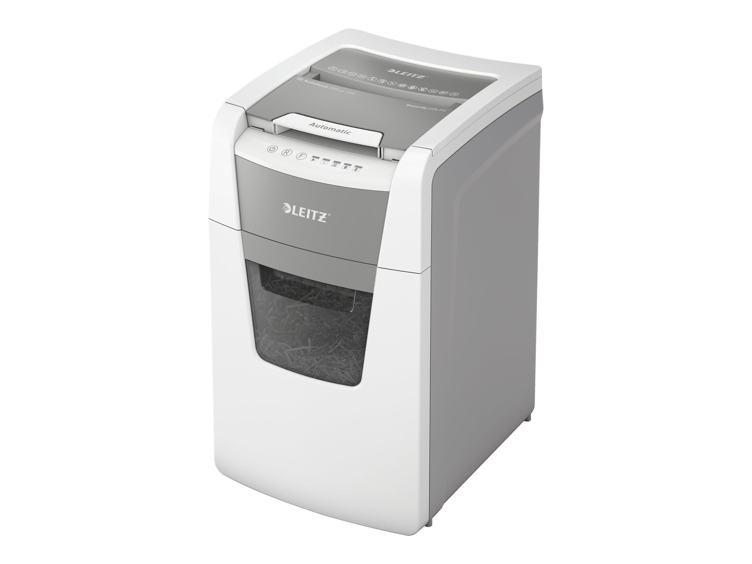 Leitz IQ AutoFeed Office 150 P5 - Vorzerkleinerer - Mikroschnitt - 2 x 15 mm - P-5