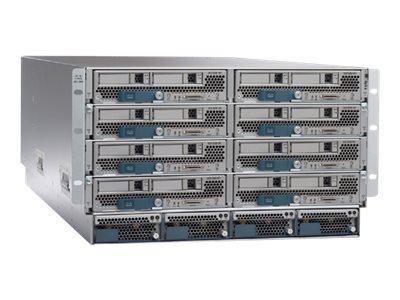 Cisco UCS 5108 Blade Server Chassis - Rack - einbaufähig - 6U - bis zu 8 Blades - ohne Netzteil
