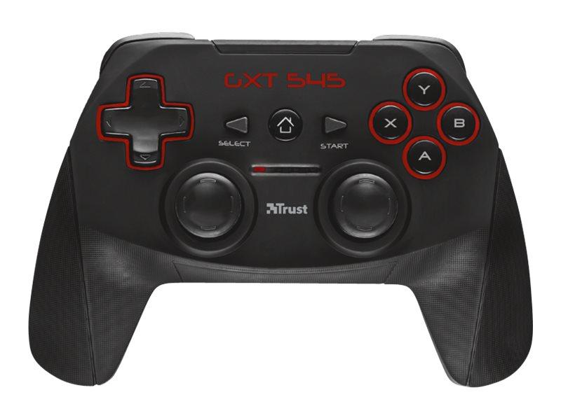 Trust GXT 545 - Game Pad - 13 Tasten - kabellos - für PC, Sony PlayStation 3
