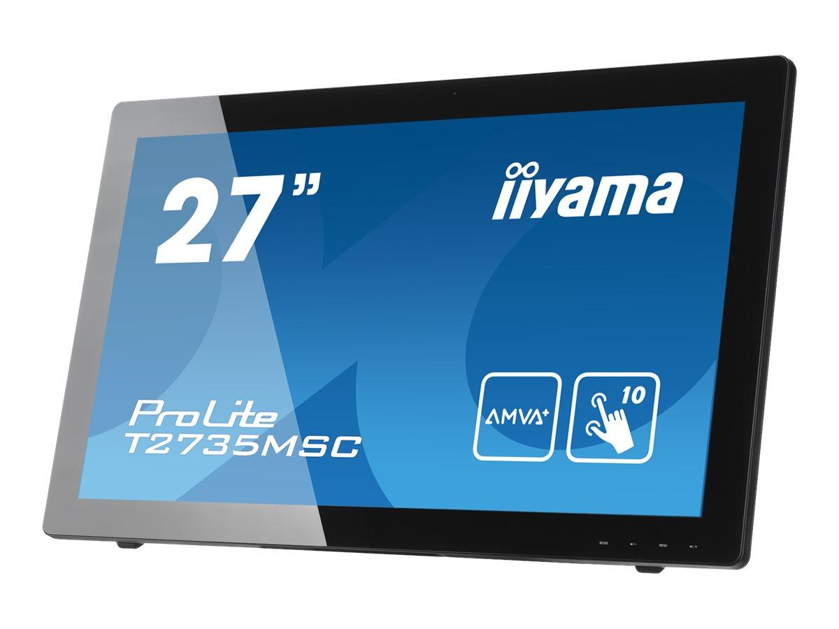 iiyama ProLite T2735MSC-B2 - LED-Monitor - 68.6 cm (27