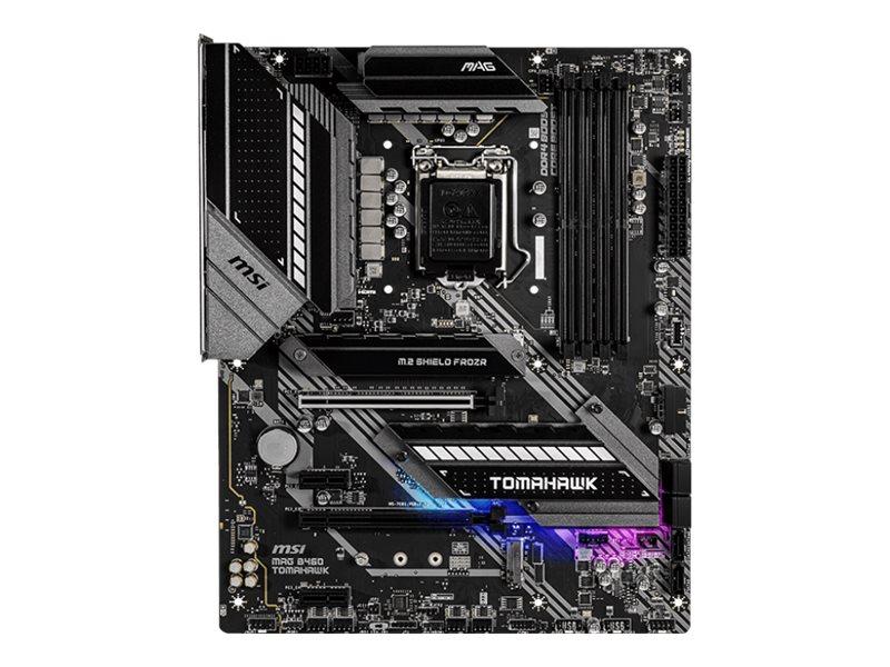 MSI MAG B460 TOMAHAWK - Motherboard - ATX - LGA1200-Sockel - B460 - USB-C Gen1, USB 3.2 Gen 1, USB-C Gen 2x2