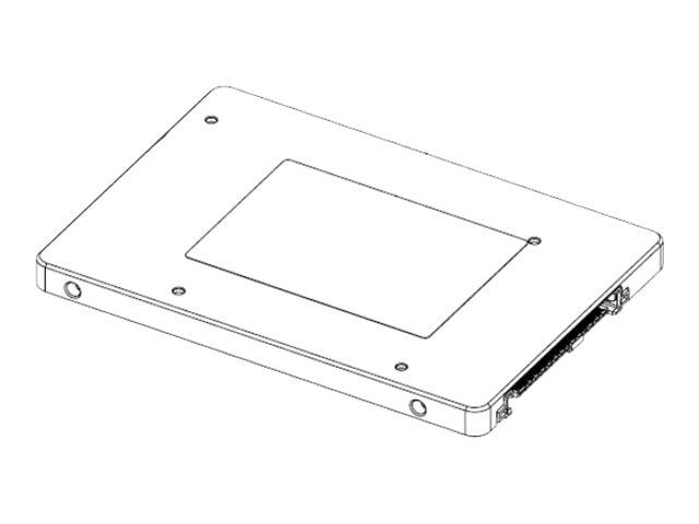 Samsung SM963 MZQKW480HMHQ - Solid-State-Disk - verschlüsselt - 480 GB - intern - 2.5
