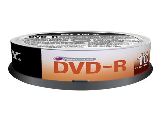 Sony DMR 47SP - 100 x DVD-R - 4.7 GB 16x - Spindel