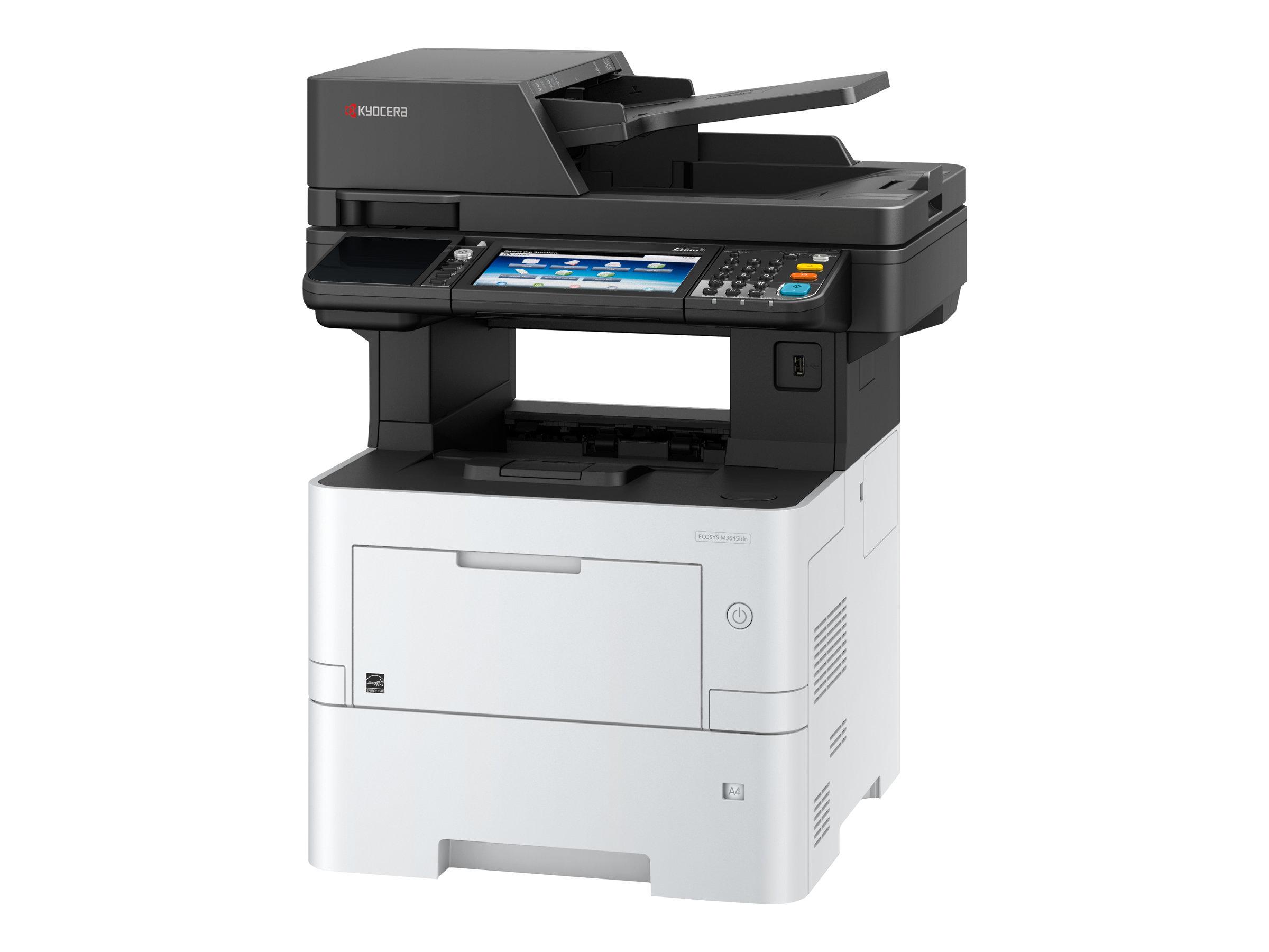 Kyocera ECOSYS M3645IDN - Multifunktionsdrucker - s/w - Laser - A4 (210 x 297 mm), Legal (216 x 356 mm) (Original) - A4/Legal (M