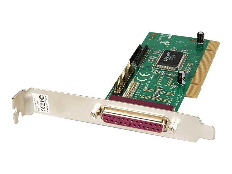 Lindy 2 Port Parallel PCI Card - Parallel-Adapter - PCI - parallel - 2 Anschlüsse