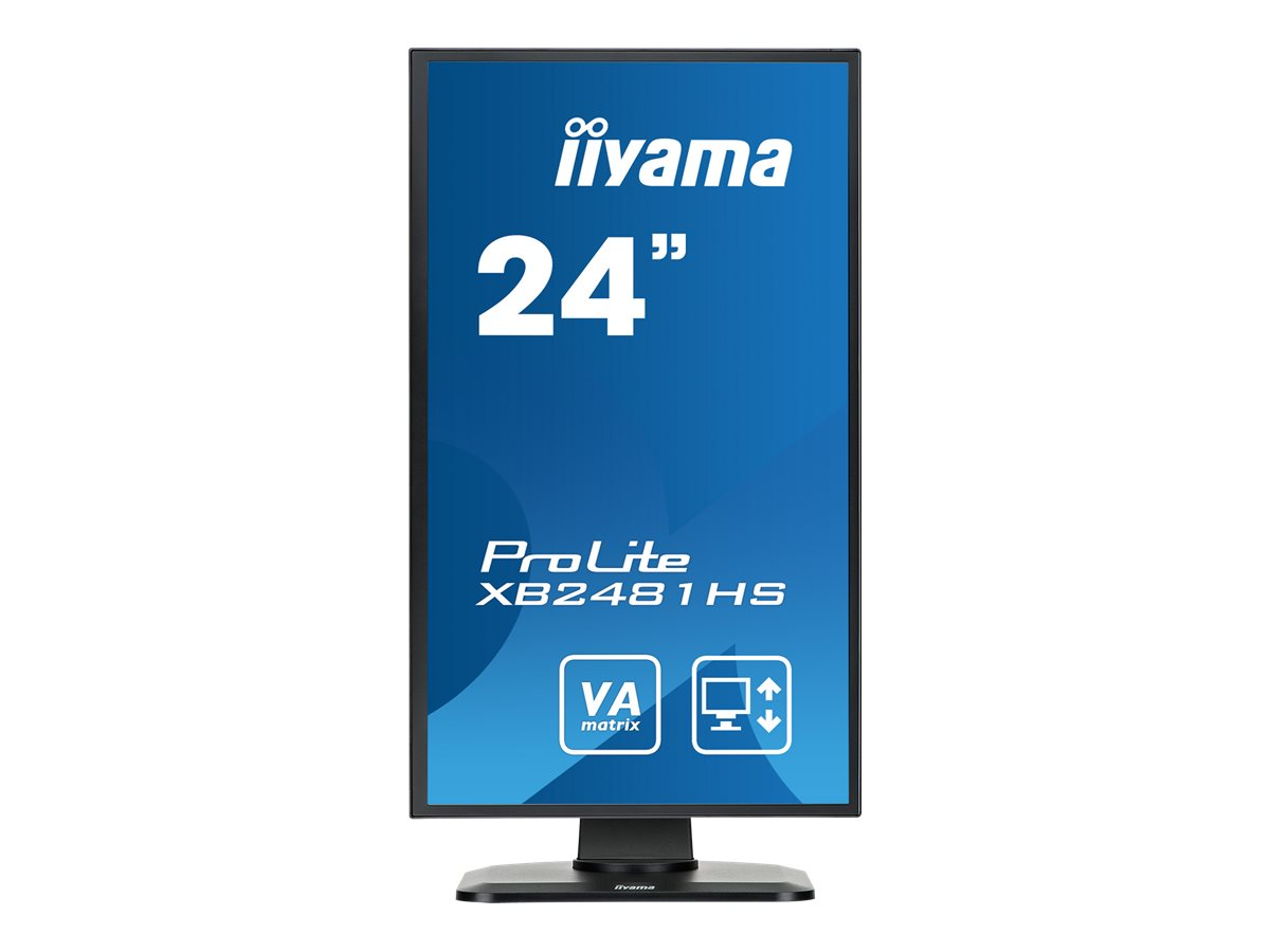 iiyama ProLite XB2481HS-B1 - LED-Monitor - 61 cm (24