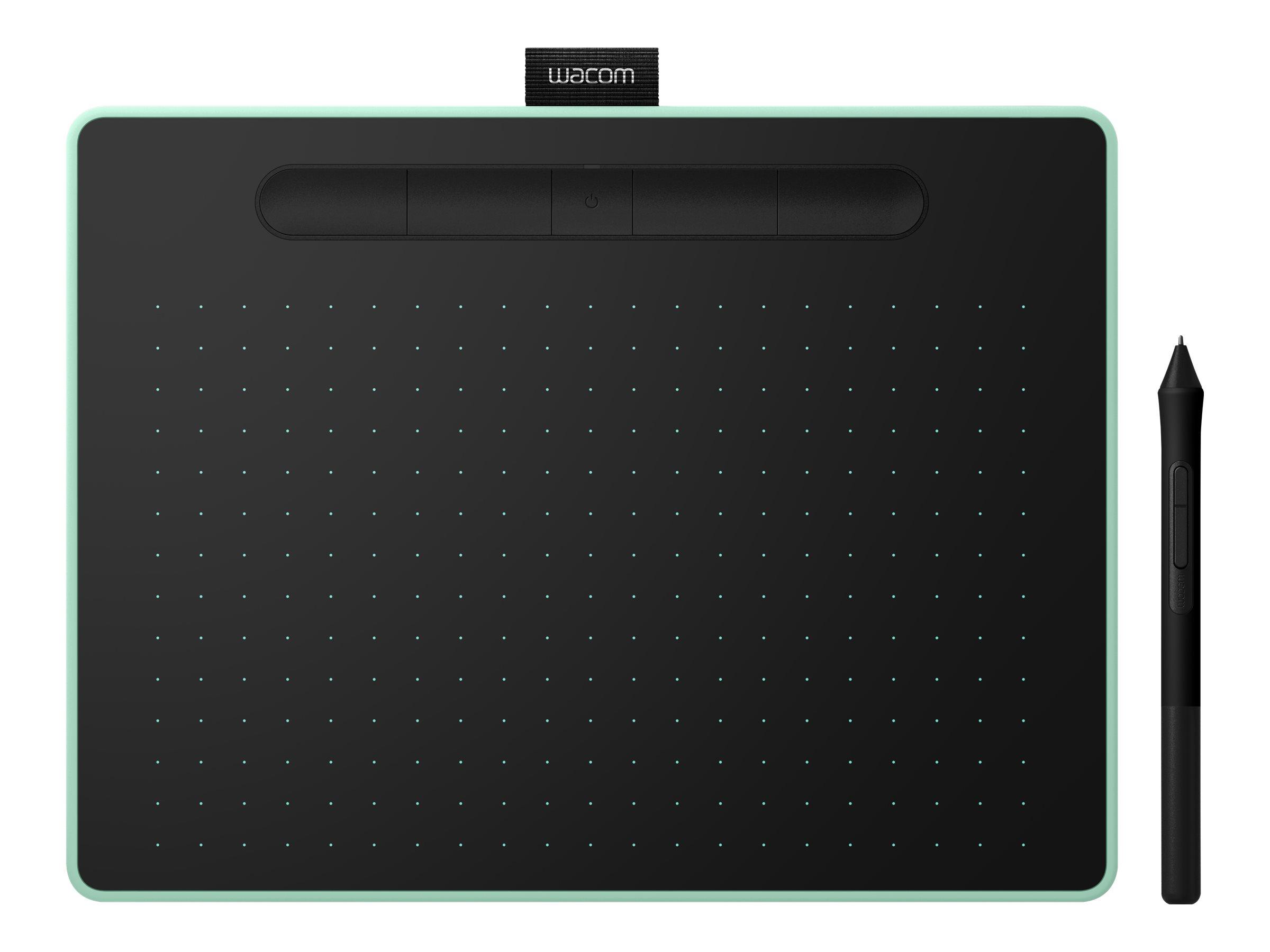 Wacom Intuos M with Bluetooth - Digitalisierer - rechts- und linkshändig - 21.6 x 13.5 cm - elektromagnetisch - 5 Tasten