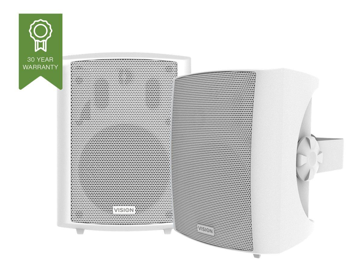 Vision SP-1800 - Lautsprecher - für PA-System - 50 Watt - dreiweg - weiss