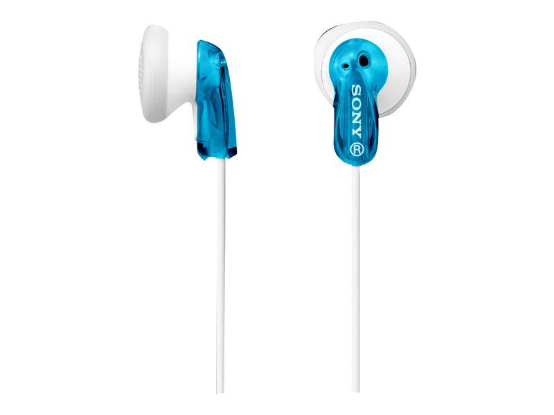 Sony MDR-E9LP - Kopfhörer - Ohrstöpsel - kabelgebunden - 3,5 mm Stecker - Blau