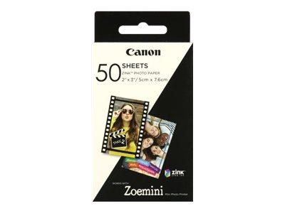 Canon ZINK - Selbstklebend - 50 x 76 mm 50 Rolle(n) Fotopapier - für Canon Zoemini; Zoemini C, S
