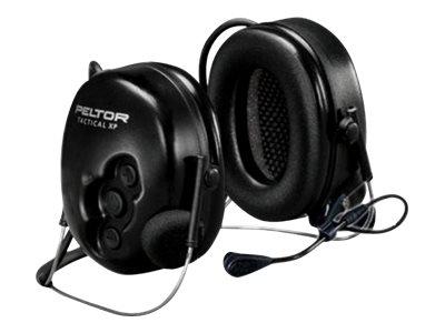 3M Peltor Tactical XP Flex MT1H7B2-77 - Headset - Full-Size - hinter dem Nacken angebracht - kabelgebunden - Schwarz