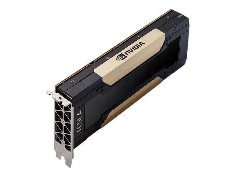 NVIDIA Tesla V100 - GPU-Rechenprozessor - Tesla V100 - 16 GB HBM2 - PCIe 3.0 x16 - ohne Lüfter