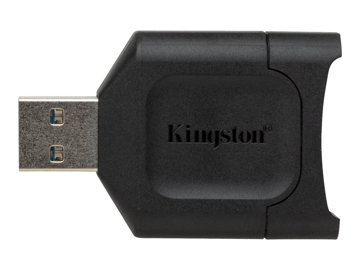 Kingston MobileLite Plus - Kartenleser (SD, SDHC, SDXC, SDHC UHS-I, SDXC UHS-I, SDHC UHS-II, SDXC UHS-II) - USB 3.2 Gen 1