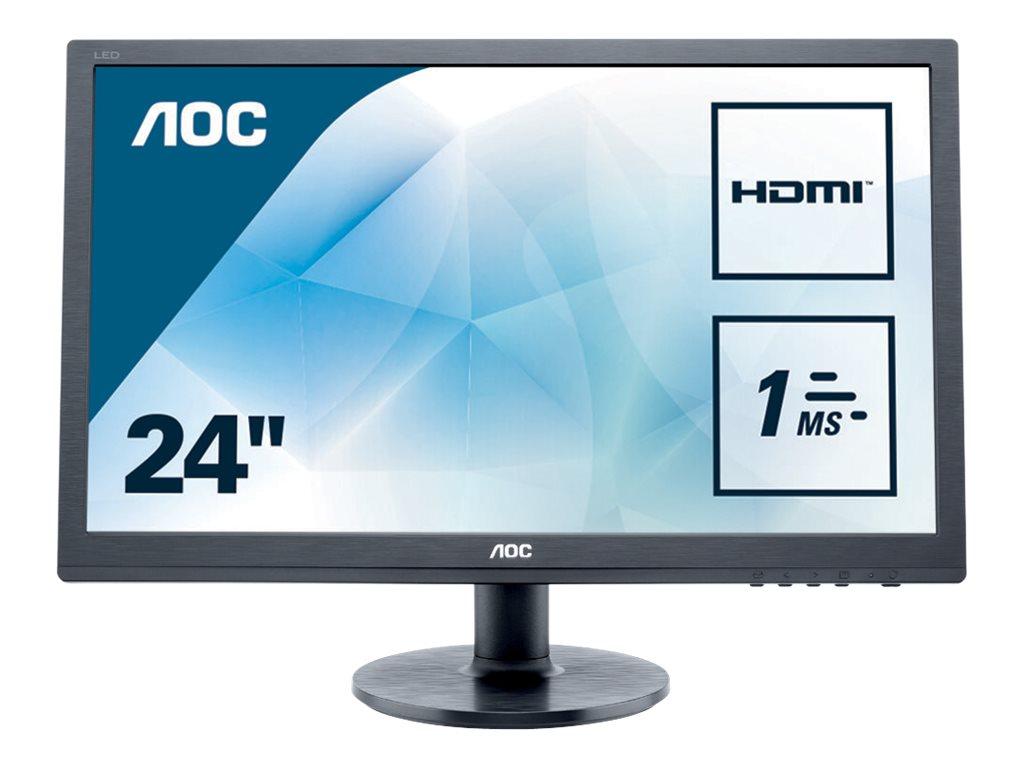 AOC Value e2460Sh - LED-Monitor - 61 cm (24