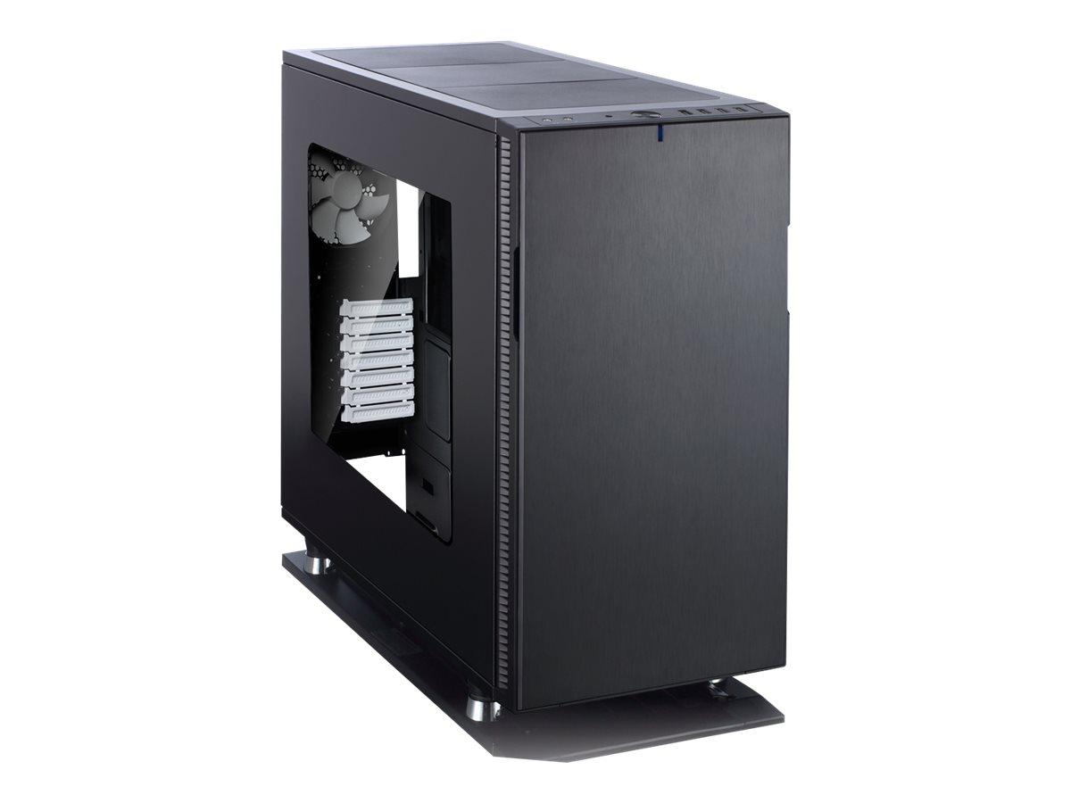 Fractal Design Define R5 - Window - Tower - ATX (ATX) - Schwarz - USB/Audio