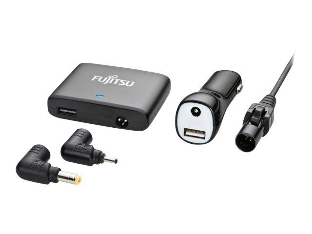 Fujitsu Car/Air DC Mini Adapter 80 - Netzteil - Pkw / Flugzeug - 12 - 15 V - 67 Watt