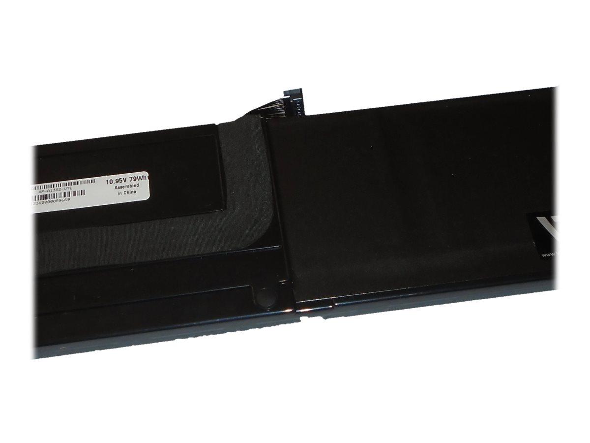 V7 - Laptop-Batterie (gleichwertig mit: Apple A1382) - 1 x Lithium-Polymer 6 Zellen 7200 mAh