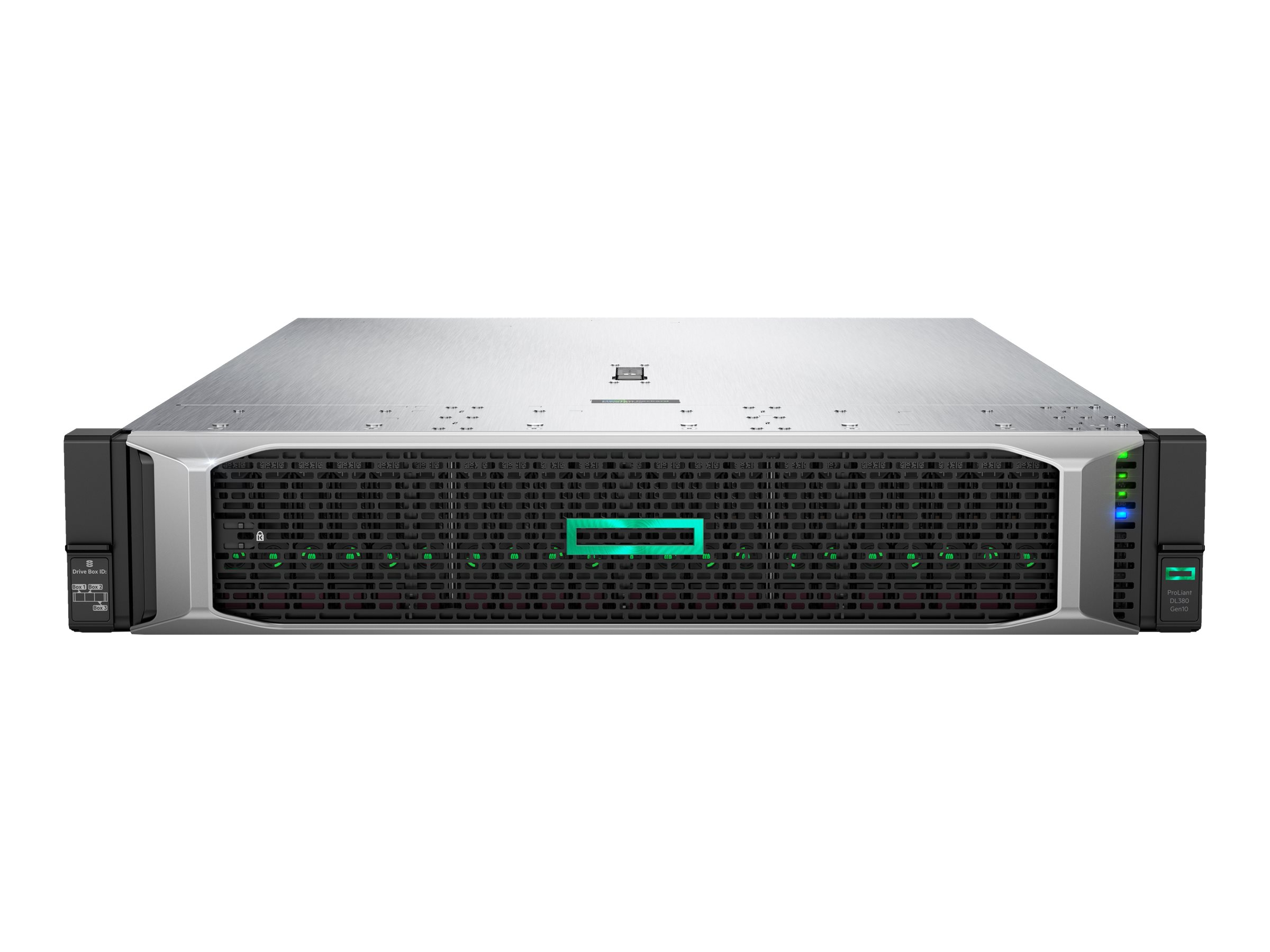 HPE ProLiant DL380 Gen10 - Server - Rack-Montage - 2U - zweiweg - RAM 0 GB