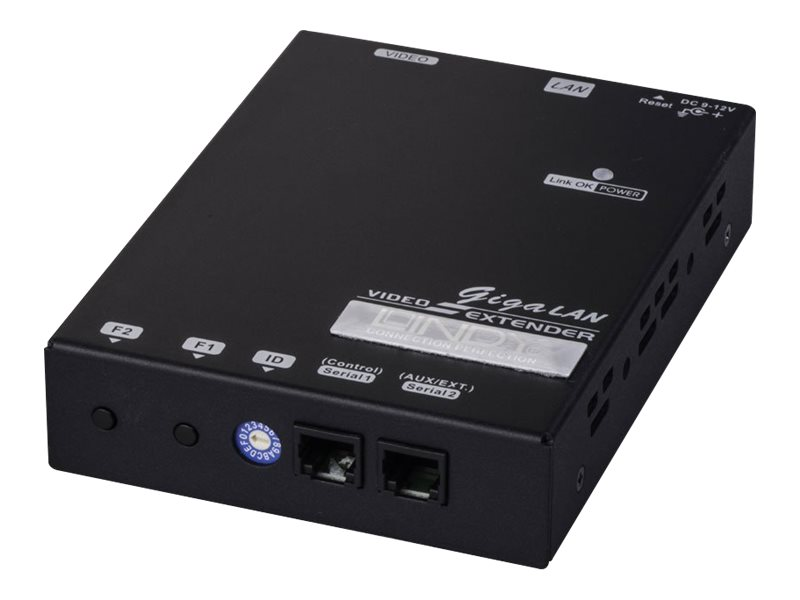 LINDY HDMI over IP Video Wall Extender, Transmitter - Serielle Video-/Audio-Erweiterung - GigE - bis zu 100 m