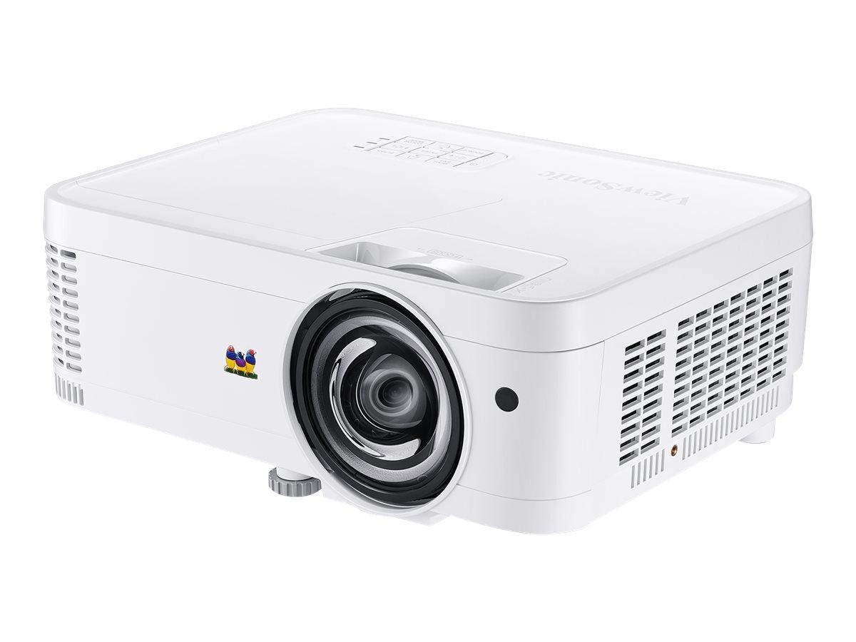 ViewSonic PS501W - DLP-Projektor - 3D - 3500 ANSI-Lumen - WXGA (1280 x 800) - 16:10
