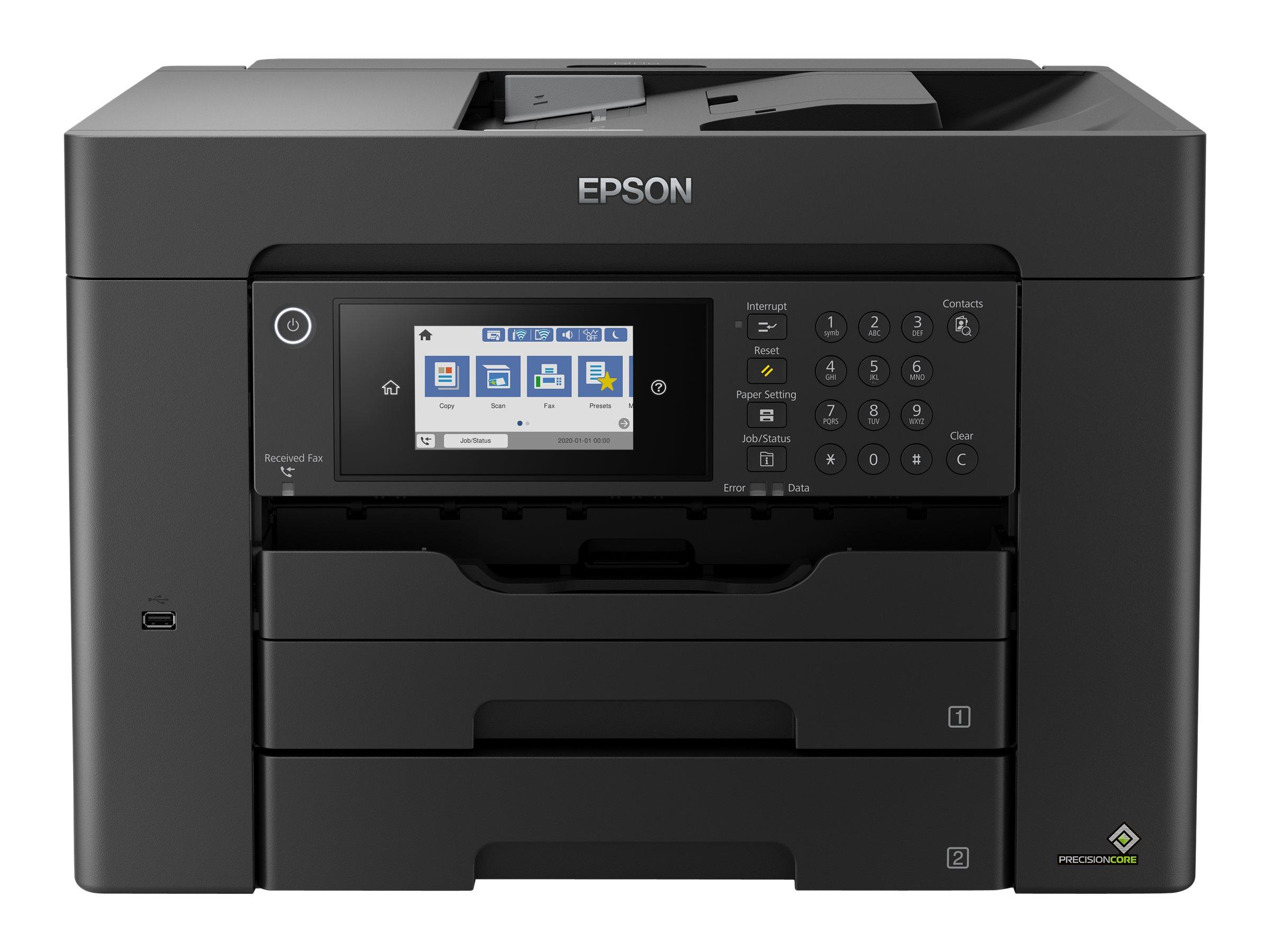 Epson WorkForce WF-7840DTWF - Multifunktionsdrucker - Farbe - Tintenstrahl - A3 (297 x 420 mm) (Original) - A3 (Medien)