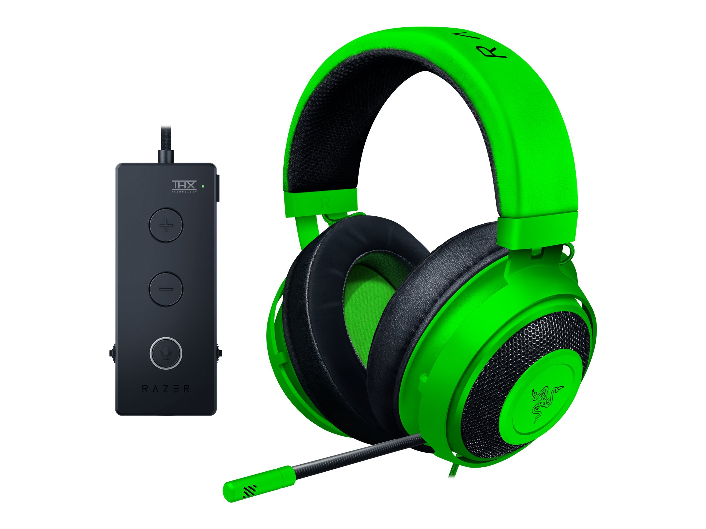 Razer Kraken - Tournament Edition - Headset - ohrumschliessend - kabelgebunden - 3,5 mm Stecker