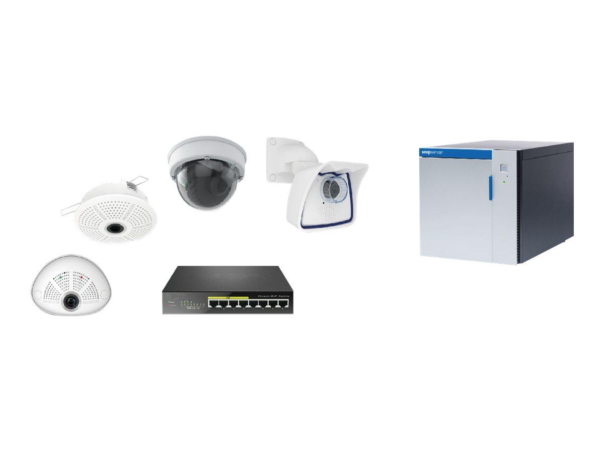 Overland Storage SnapServer XSD40 preconfigured for Mobotix Auto Install - DVR + Kamera(s) - verkabelt - 4 x 4 TB - 4 Kamera(s)