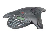 Polycom SoundStation2 - Konferenztelefon mit Rufnummernanzeige/Anklopffunktion