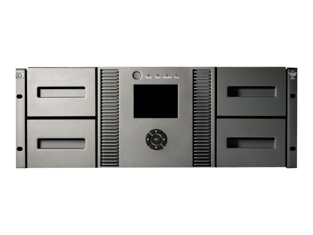 HPE StorageWorks MSL4048 Ultrium 1840 - Bandbibliothek - 38.4 TB / 76.8 TB - Steckplätze: 48 - LTO Ultrium (800 GB / 1.6 TB) x 2