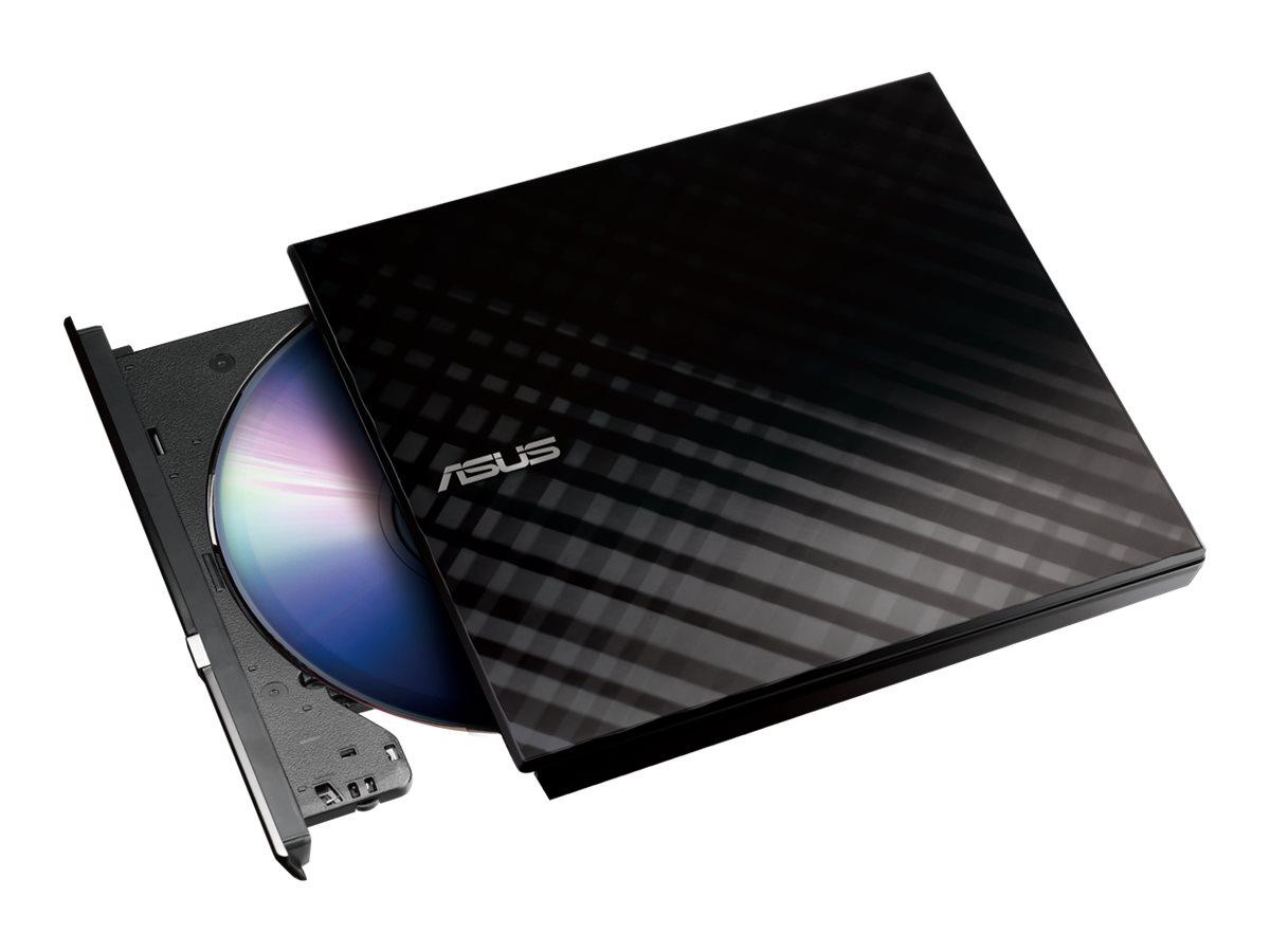 ASUS SDRW-08D2S-U LITE - Laufwerk - DVD±RW (±R DL) / DVD-RAM - 8x/8x/5x - USB 2.0 - extern